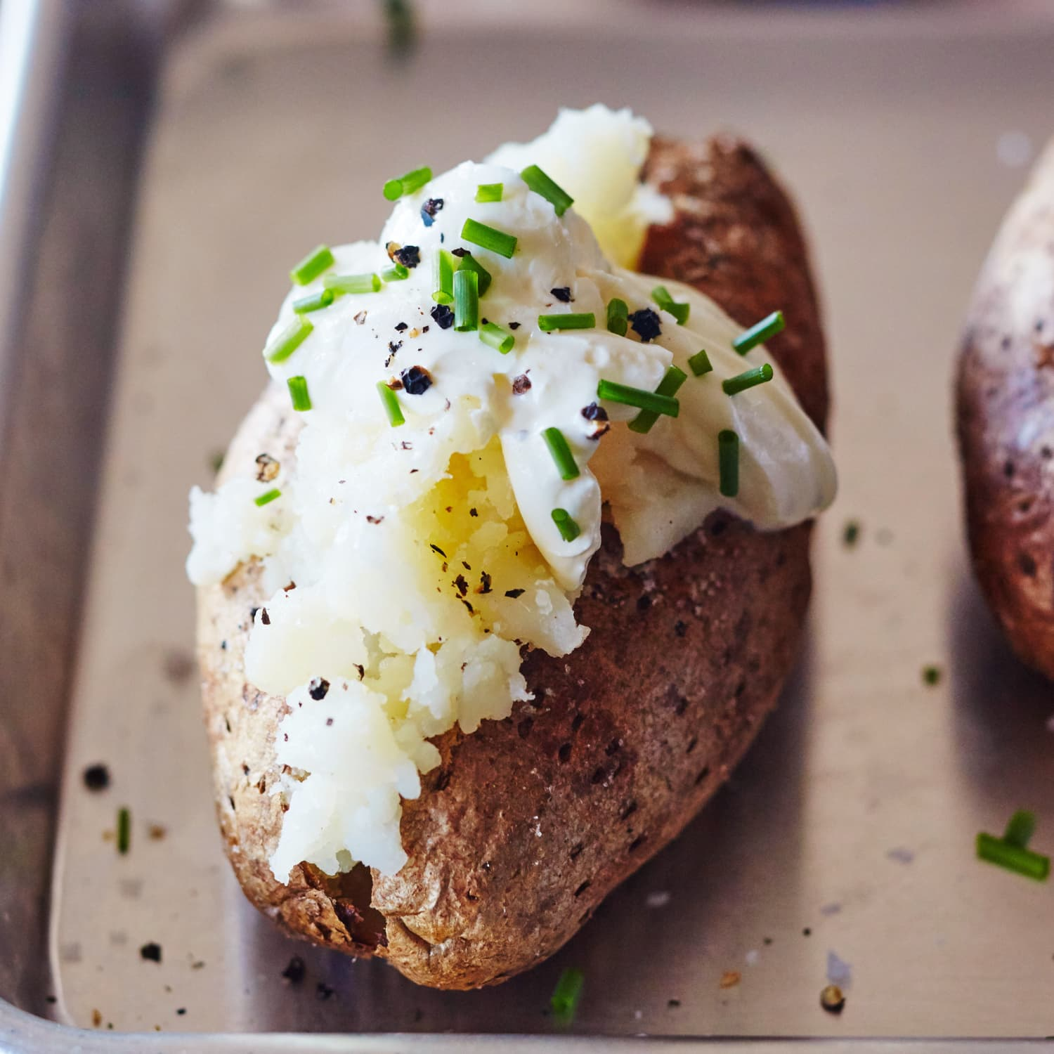 A DIFFERENT APPROACH TO BAKING POTATOES IN AN OVEN